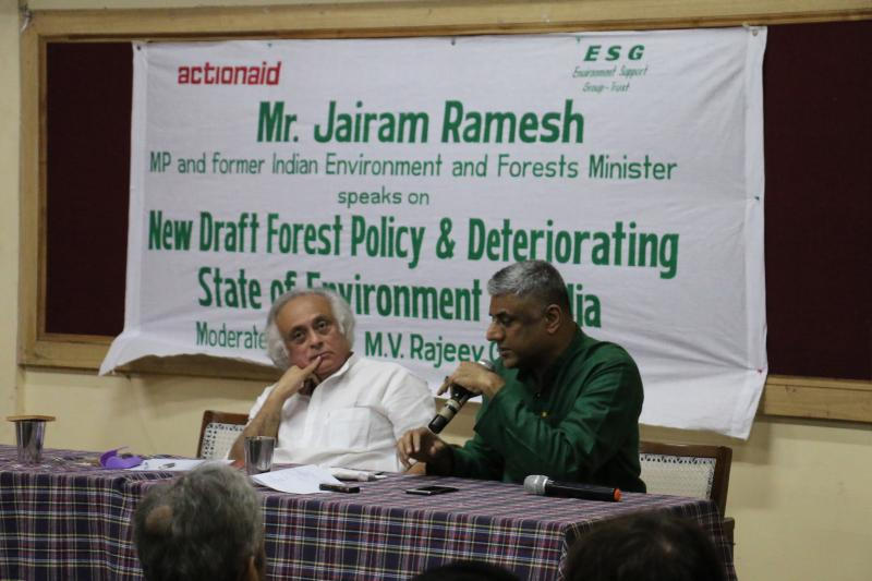 Rajeev Gowda and Jairam Ramesh