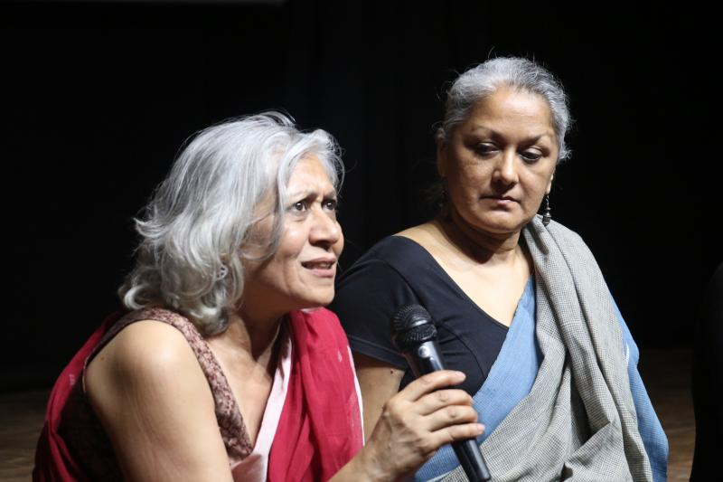 Indu Krishnan and Indira Chandrashekar